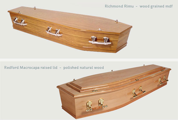 Image of casket selection